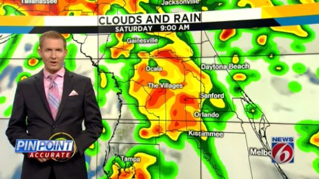 Tropics bring severe weather potential for the weekend