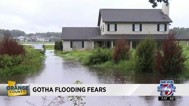 Gotha Flooding Fears