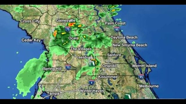 LIVE RADAR: Afternoon storms roll into Central Florida