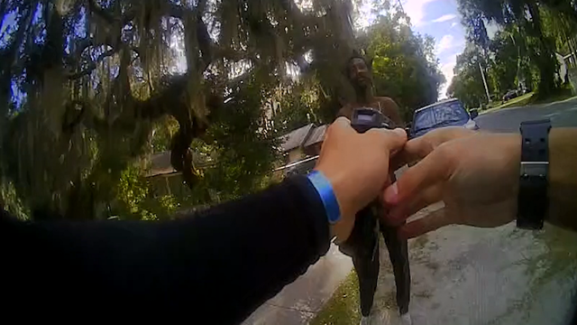 Video: Arrest of suspect in Mount Dora
