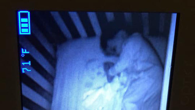 This ghost baby scared the sheet out of this mom