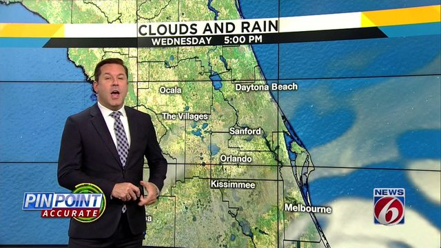 Cooler weather hits Central Florida