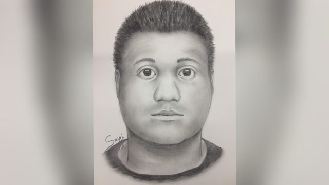 Sketch released of man accused of inappropriately grabbing female jogger