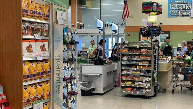 Ocoee Publix debuts four new self-checkout scanners