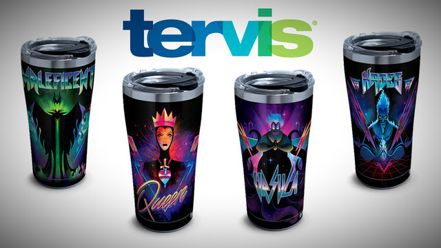 Tervis lets you take your love for Disney villains on the go
