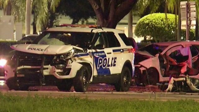Officers hurt after head-on-crash