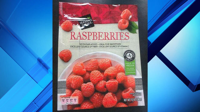Frozen raspberries sold at Aldi, Raley's recalled