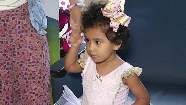 Searching for miracle donor for 4-year-old girl with cancer