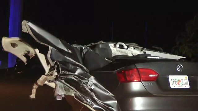 Driver killed in head-on Orange County crash