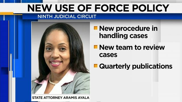 State attorney announces use of force review policy in Orange and…