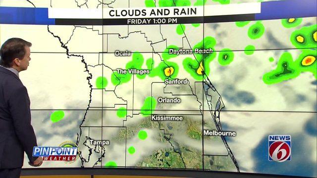 News 6 evening video forecast -- 11/6/19