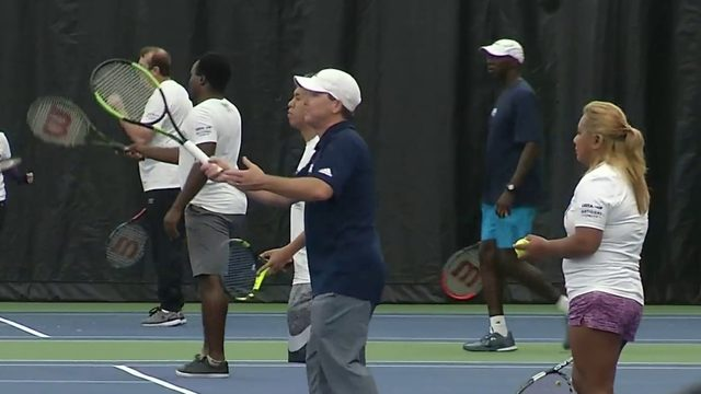 Veterans serve up fitness, fun with USTA military tennis program