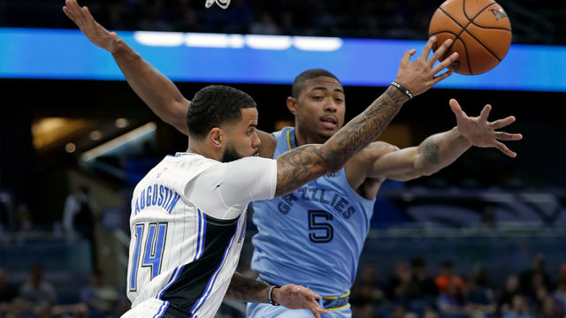 Orlando defense forces 18 turnovers, Magic beat Grizzlies 118-86