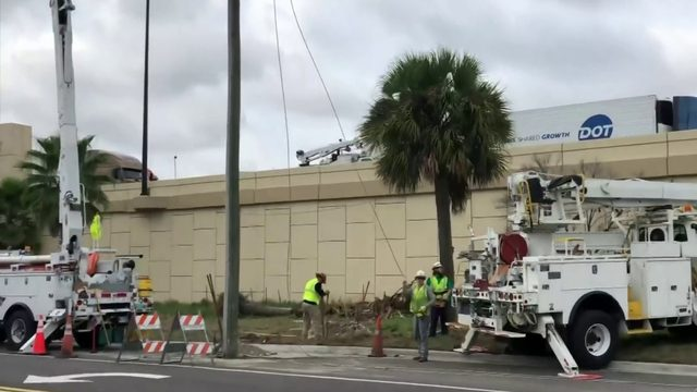 Blame game over construction fail that left pole in road; who's at fault?