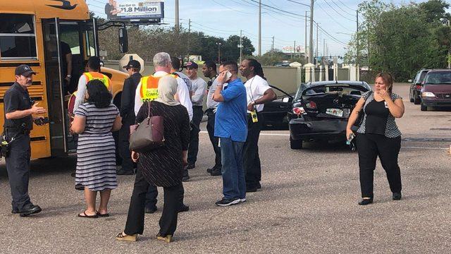 Student on Orange County school bus injured in crash