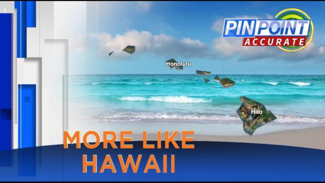Aloha! Central Florida felt more like Hawaii last 30 days