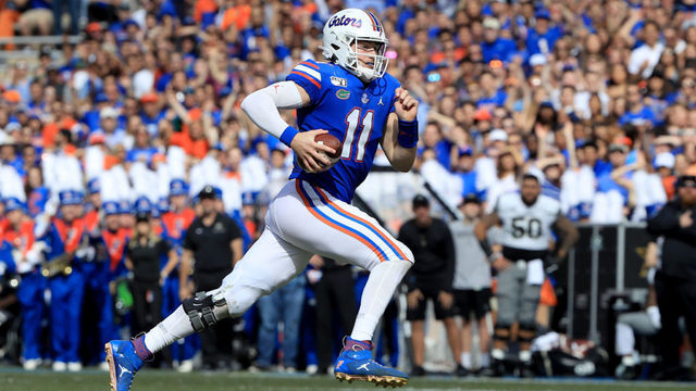 Trask's career day lifts No. 10 Florida over Vandy, 56-0