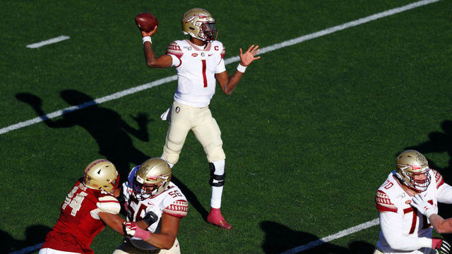 Florida State wins one for interim coach, beats BC 38-31
