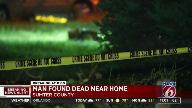 Man Found Dead Near Home