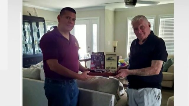 MIssing military memorabilia returned to family