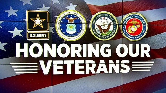 "News 6 honors its own on ""The Weekly"" for Veterans Day"