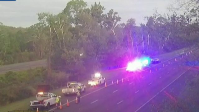 Man struck, killed while crossing I-95 in Volusia County