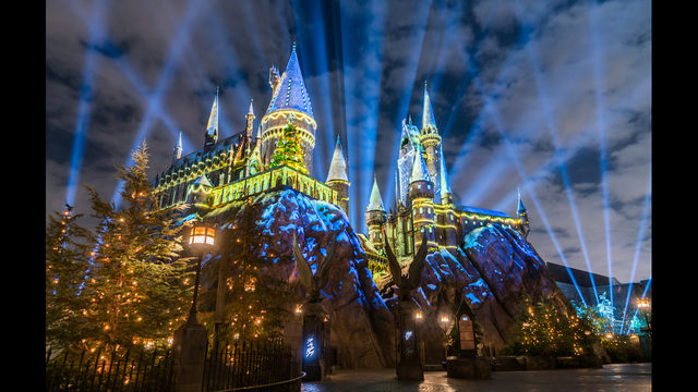Universal Christmas at Hogwarts
