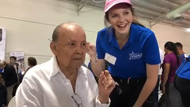 Rollins college student brings gift of hearing to hundreds