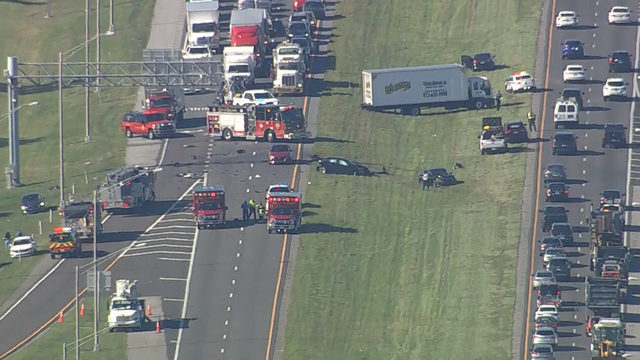 Traffic Alert: Orange County crash causes backup northbound on State Road 417