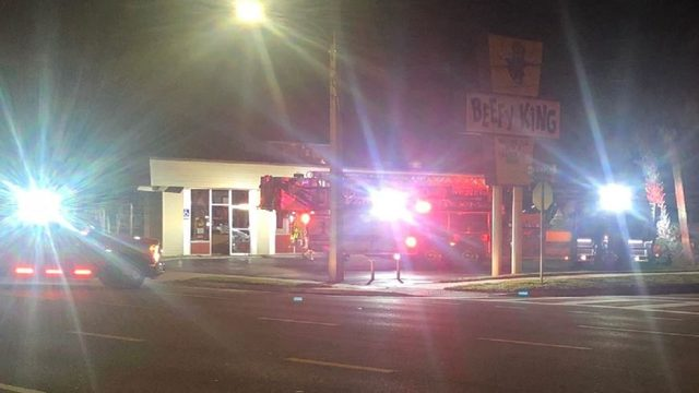 Iconic Orlando restaurant Beefy King damaged by fire