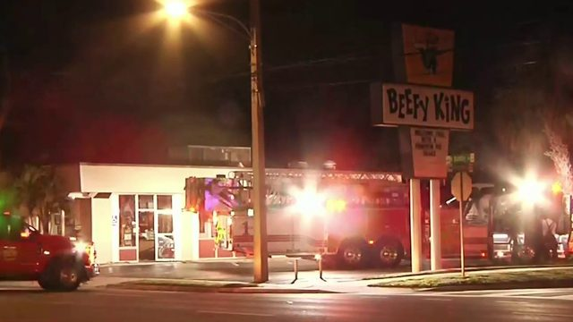 Fire scorches iconic Orlando restaurant