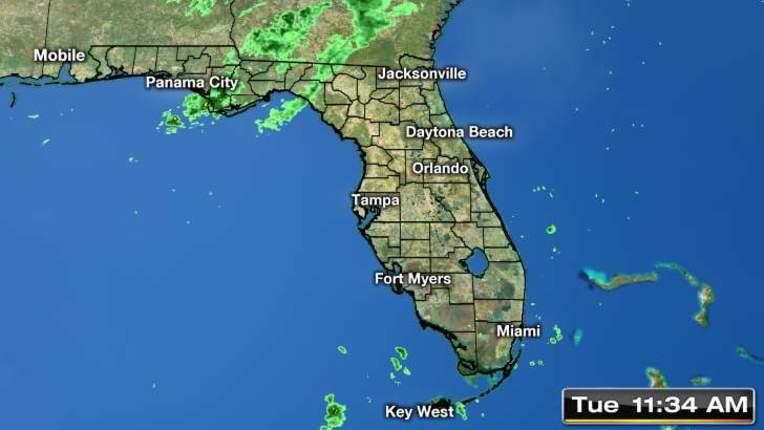 Orlando Doppler Weather Map.Weather Orlando Central Florida Forecast Radar